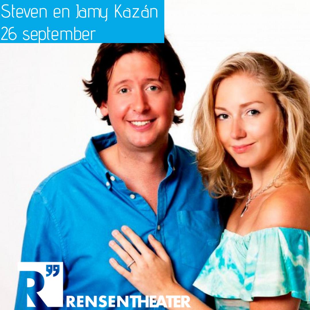 Steven Kazán en Jamie's Magie in het Rensentheater!