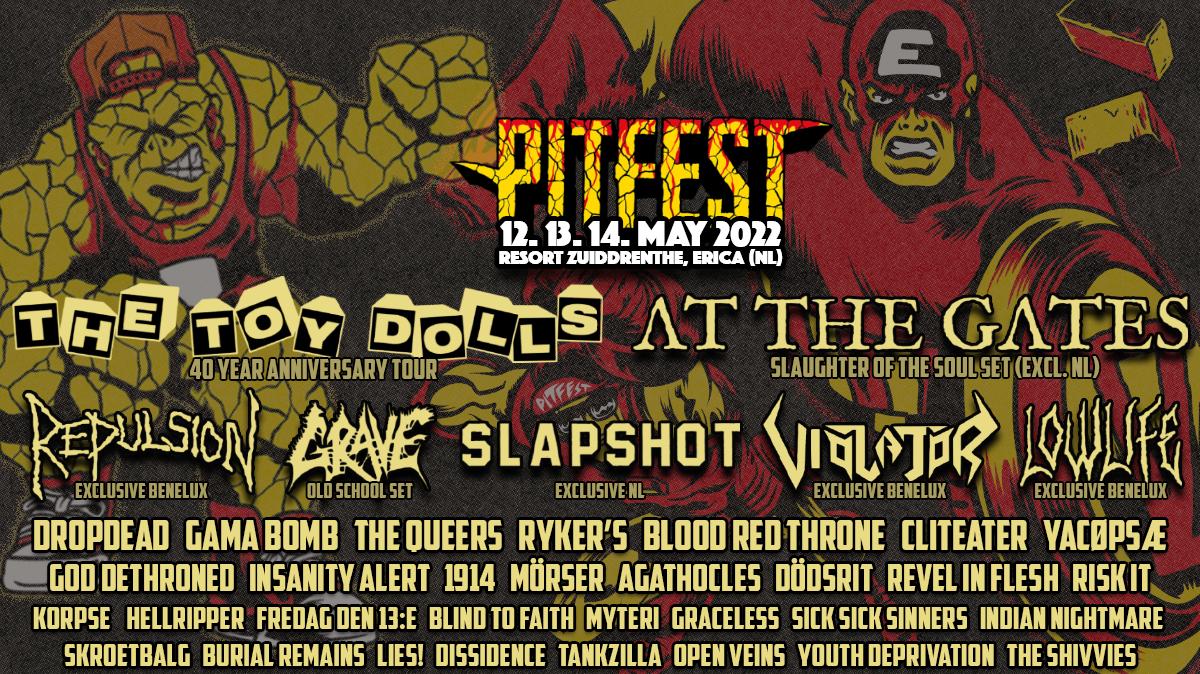 Pitfest 2022 Festival Tickets