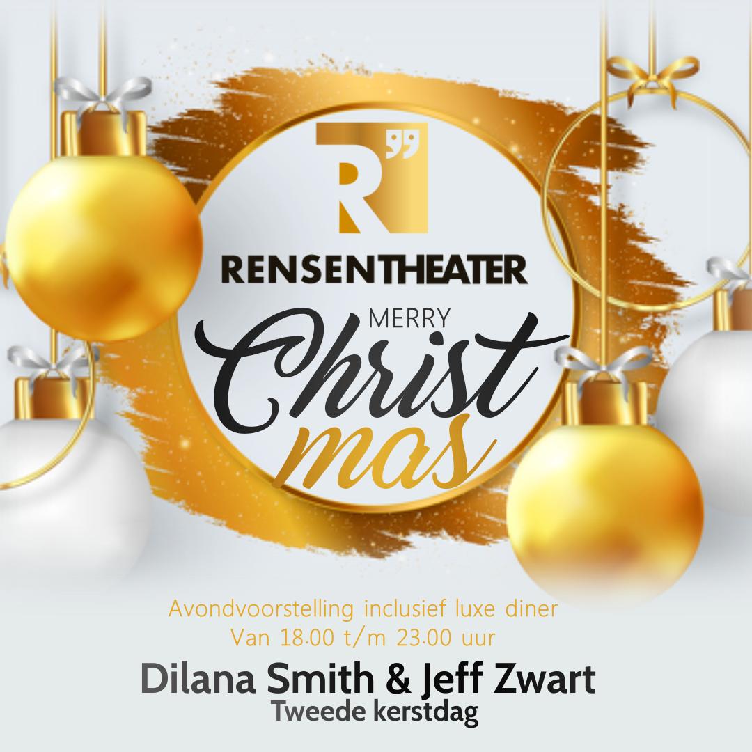 Kerstconcert + Diner Dilana Smith & Jeff Zwart + China  lights