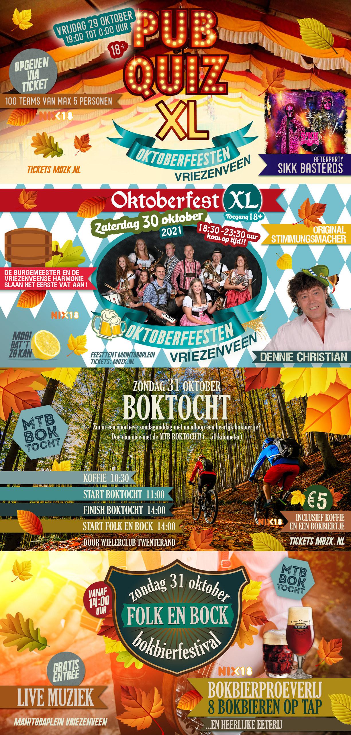 Oktoberfeesten XL Vriezenveen