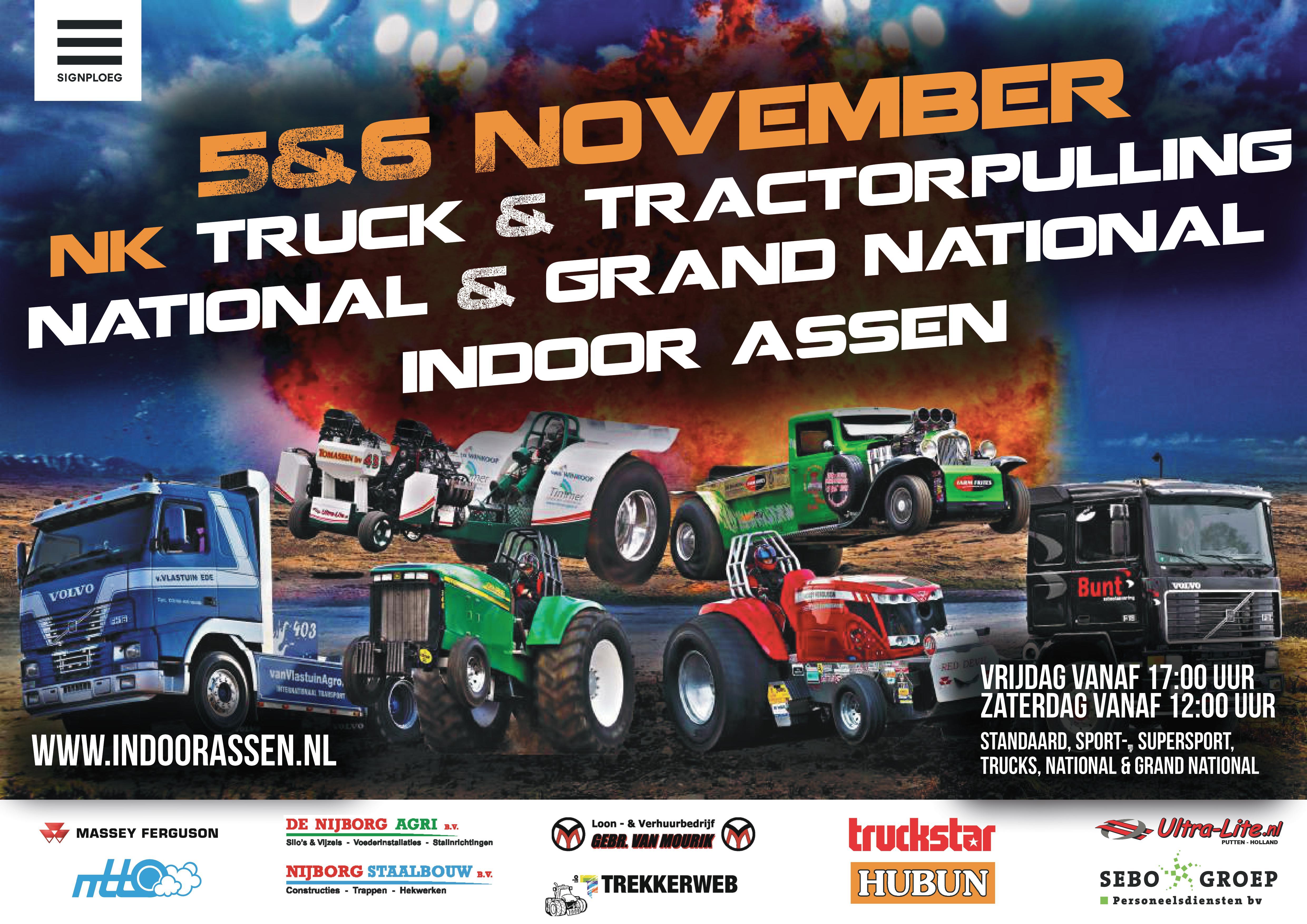 Truck & Tractorpulling Indoor Assen