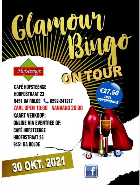 Café Hofsteenge & Glamour Bingo on Tour 2021