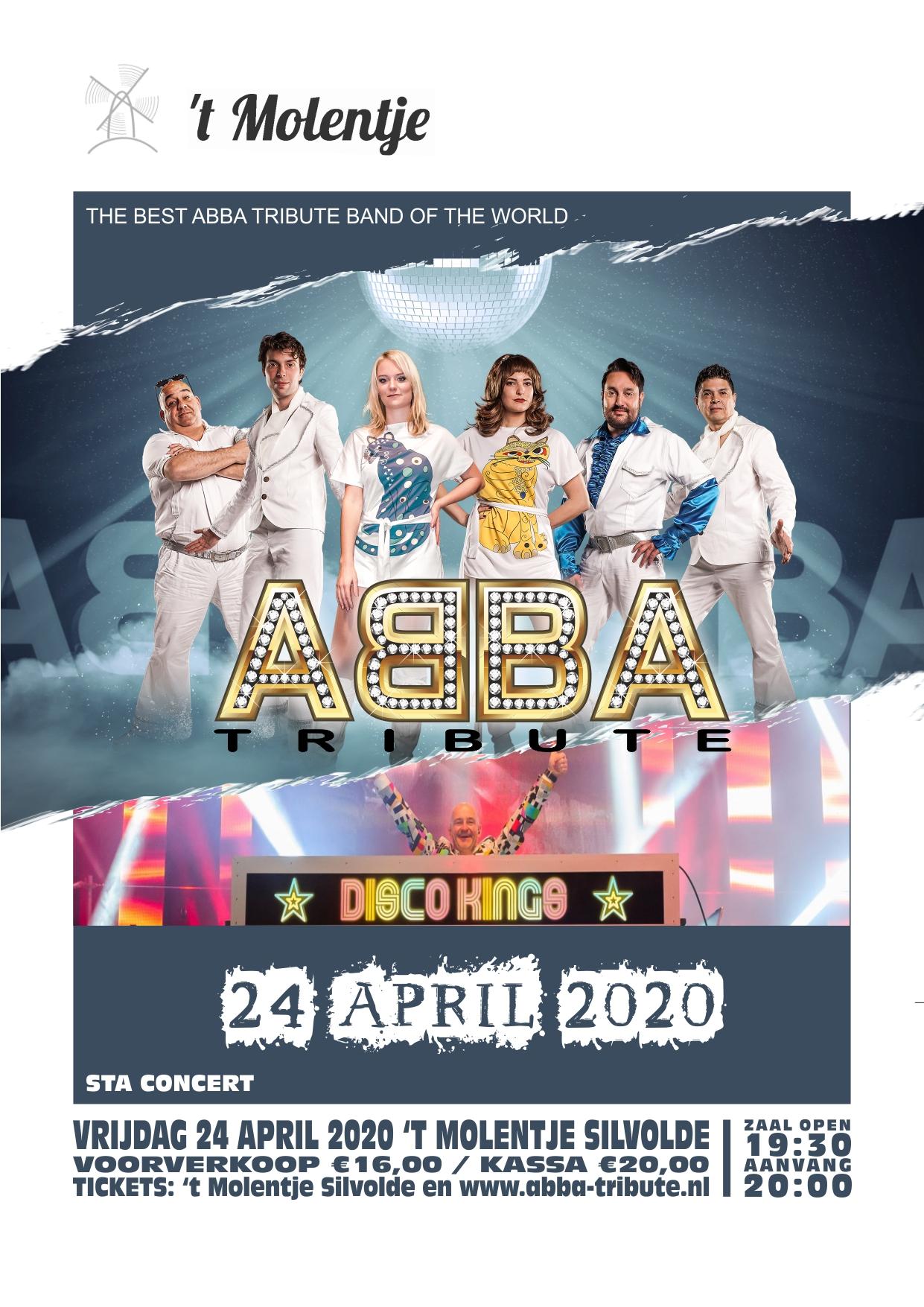 ABBA Tribute 't Molentje Silvolde 2022