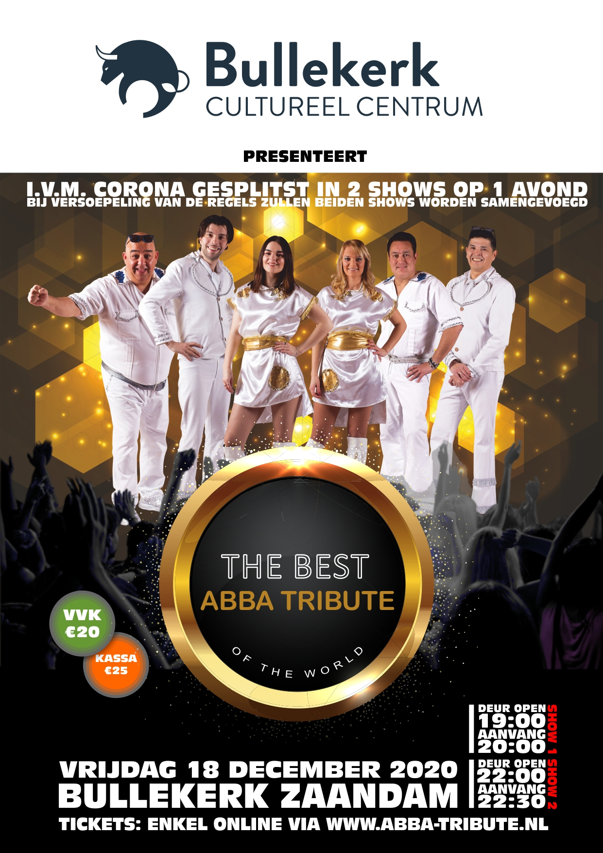 ABBA Tribute Bullekerk Zaandam 2021
