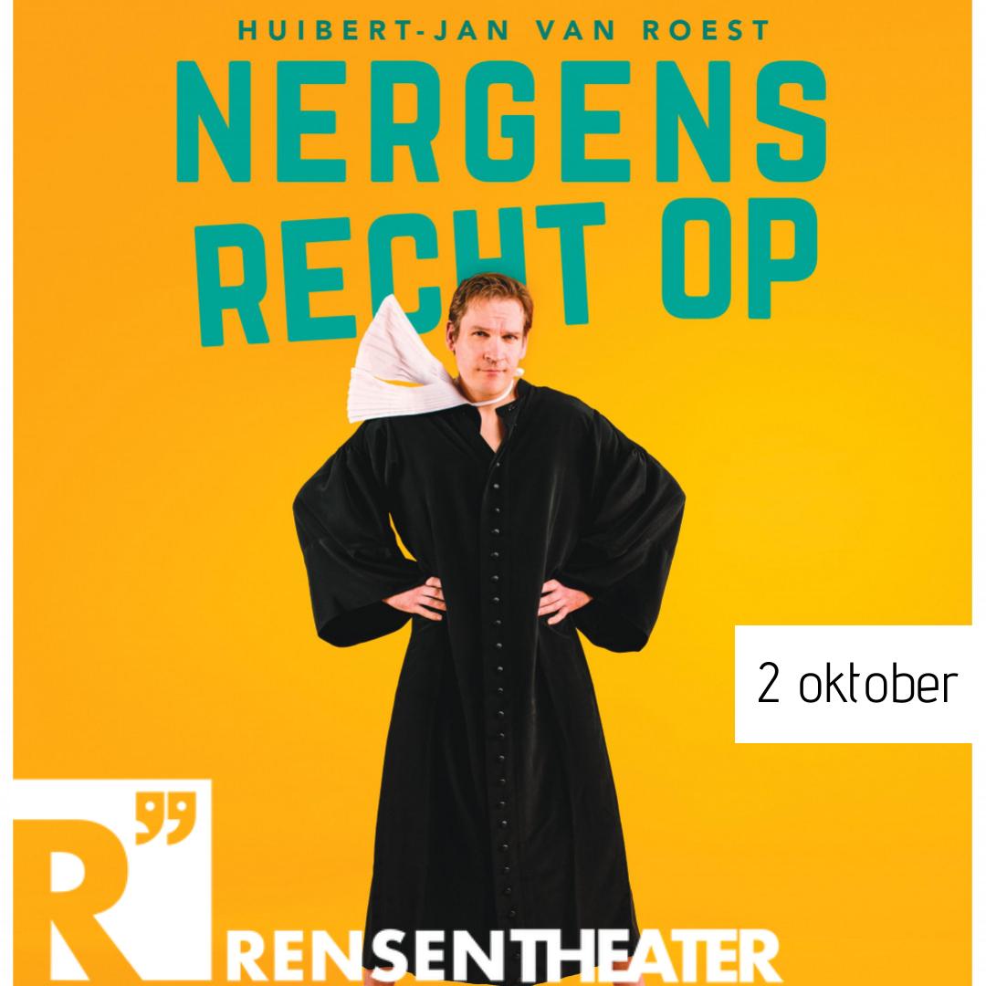 Nergens recht op  -  Huibert-Jan van Roest