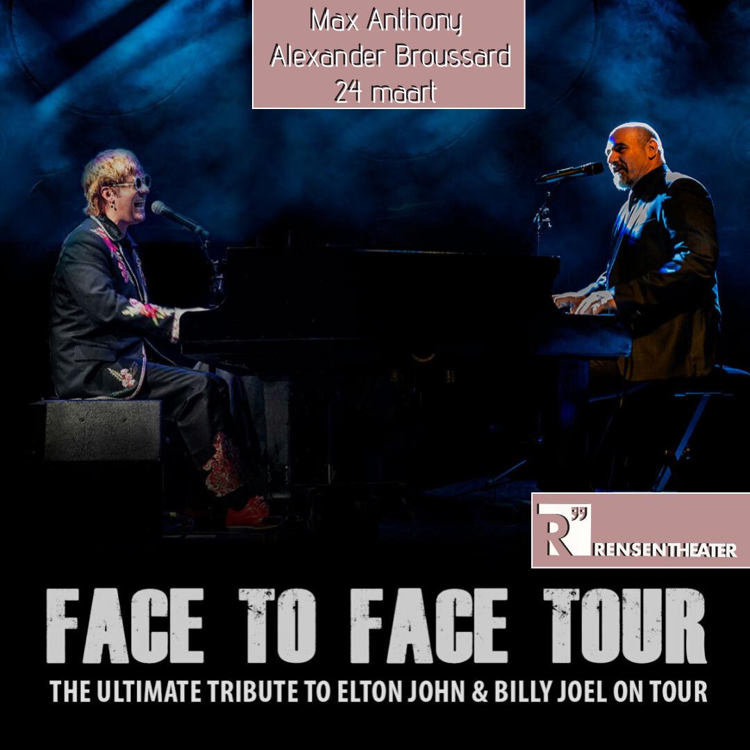 Face to Face Billy Joel & Elton John tribute