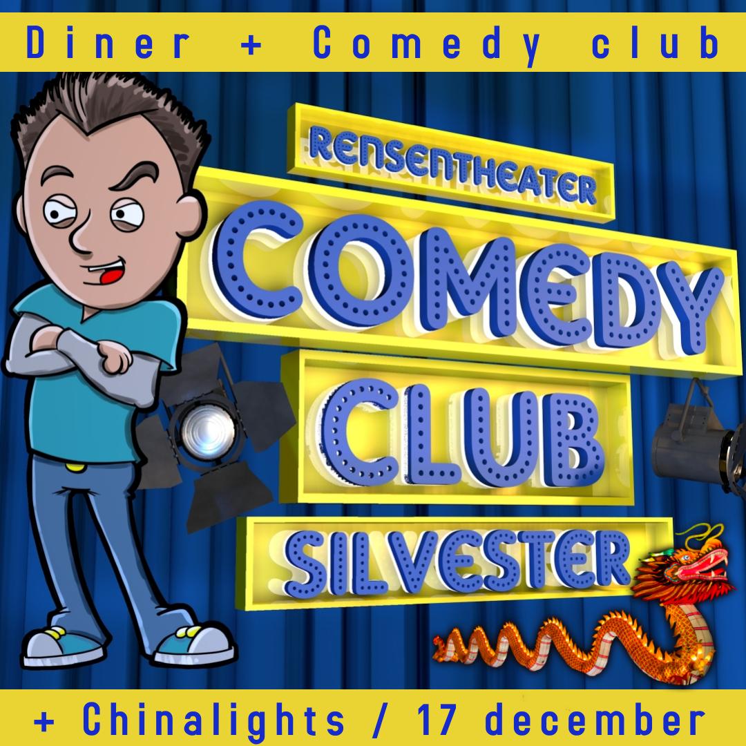 Comedy night + Diner + Chinalights