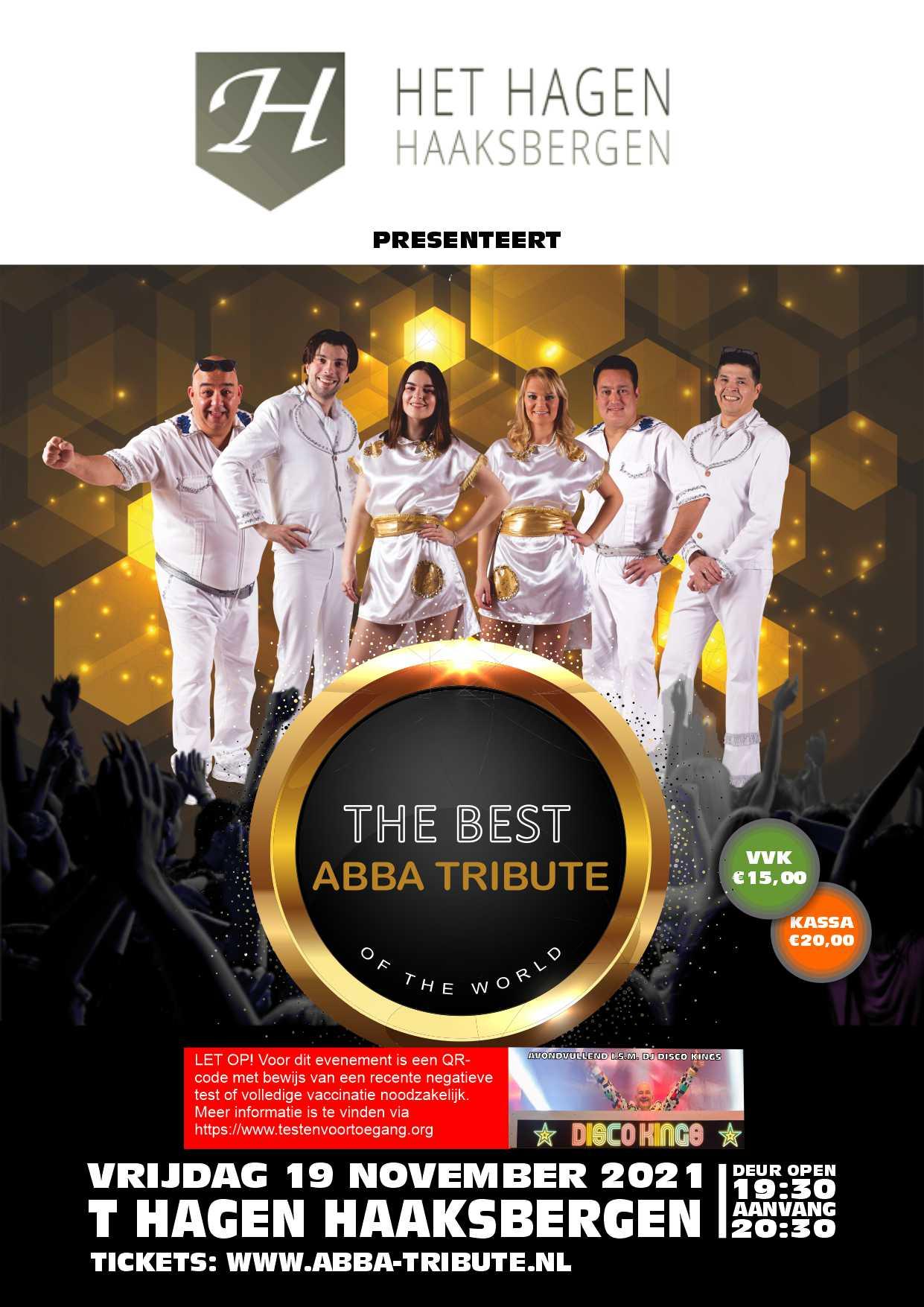 ABBA Tribute 't Hagen Haaksbergen 2021