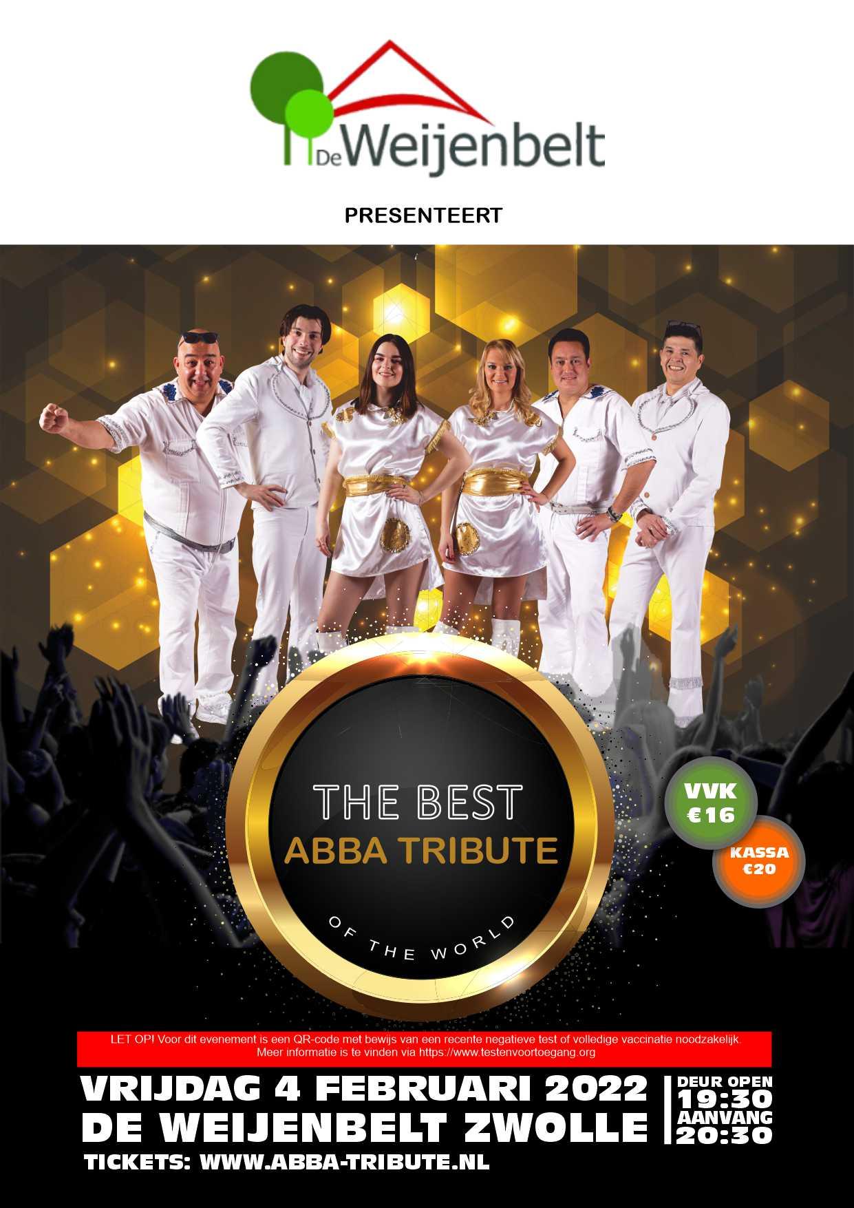 ABBA Tribute De Weijenbelt Zwolle